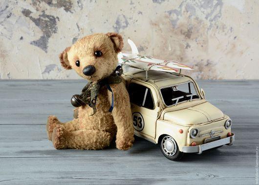 Мишки Тедди ручной работы. Ярмарка Мастеров - ручная работа. Купить Мишка Проха. Handmade. Бежевый, вискоза Германия