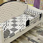 Мебель ручной работы. Ярмарка Мастеров - ручная работа Бортик от падения на детскую кроватку. Handmade.