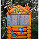 Детская ручной работы. Ярмарка Мастеров - ручная работа. Купить (08)Кукольный театр (1450х760), ширма «Теремок». Handmade. Puppet theater