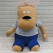 Куклы и игрушки ручной работы. Ярмарка Мастеров - ручная работа Чак- любитель чупа- чупс в штанишках. Handmade.