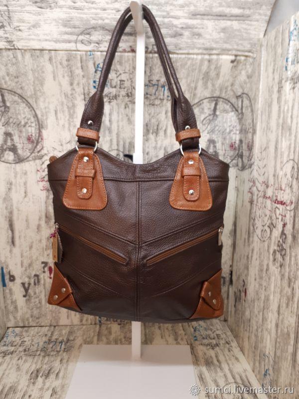 Bag leather, Classic Bag, Zvenigorod,  Фото №1