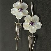 Украшения handmade. Livemaster - original item Earrings Flowers. Handmade.