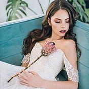 Свадебный салон ручной работы. Ярмарка Мастеров - ручная работа Свадебное платье Eva. Handmade.