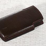 Сумки и аксессуары handmade. Livemaster - original item Pouch for mobile phone Sony Ericsson Xperia Neo V MT11. Handmade.