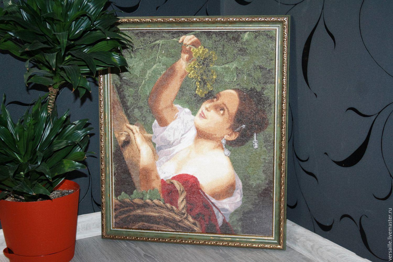 Вышивка с репродукции картины 793