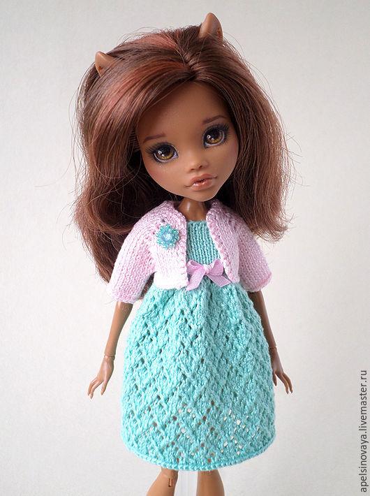 Одежда для кукол ручной работы. Ярмарка Мастеров - ручная работа. Купить Комплект одежды для кукол Monster high. Handmade. Комбинированный