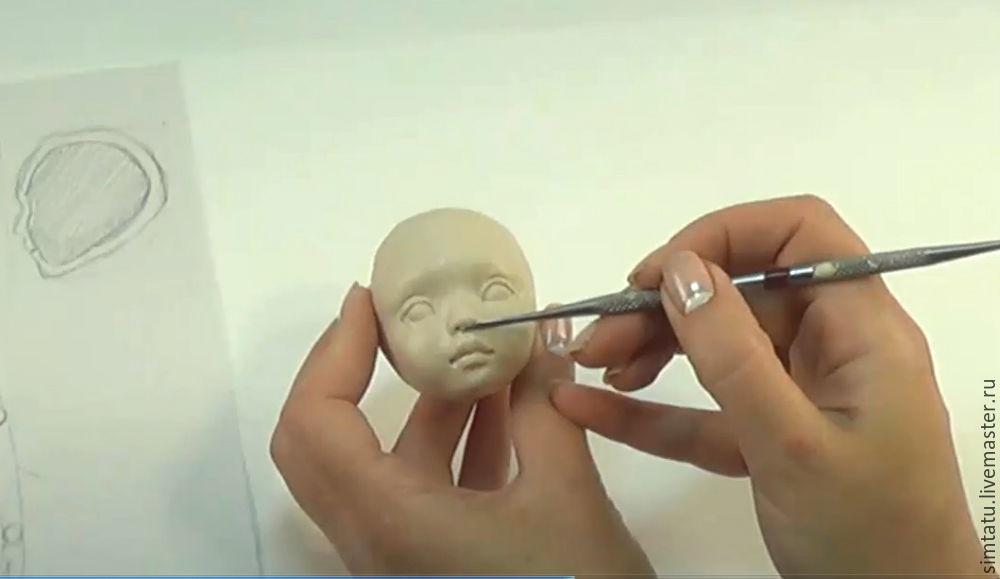 Мастер класс по созданию кукол из полимерной глины 77