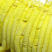 Пайетки ручной работы. Ярмарка Мастеров - ручная работа Французские пайетки 4 мм глянцевый фарфор 11055. Handmade.