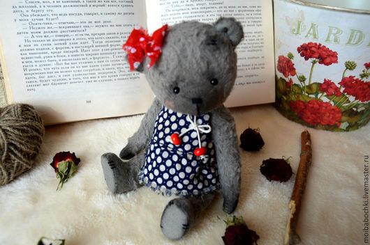 Мишки Тедди ручной работы. Ярмарка Мастеров - ручная работа. Купить Варя. Handmade. Разноцветный, мишка, старина, текстиль