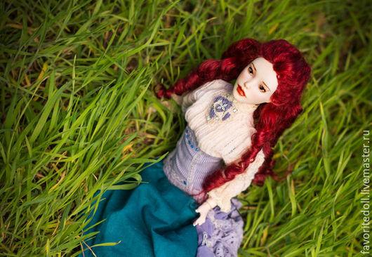 Коллекционные куклы ручной работы. Ярмарка Мастеров - ручная работа. Купить Шарнирная кукла Медея. Handmade. Комбинированный, bjd, лак