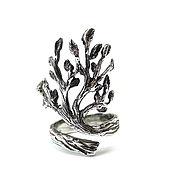 Украшения handmade. Livemaster - original item Tree of Life Ring, Sterling Silver Ring Tree of Life, Branch Ring. Handmade.