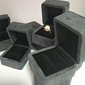 Коробки ручной работы. Ярмарка Мастеров - ручная работа Футляр под кольцо. Handmade.