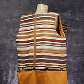Vests handmade. Livemaster - original item Vest jacquard. Handmade.