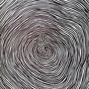 Картины и панно ручной работы. Ярмарка Мастеров - ручная работа Картина графика Вселенная и Человек. Handmade.
