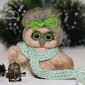 Куклы и игрушки handmade. Livemaster - original item The owl and the Nightingale. Handmade.