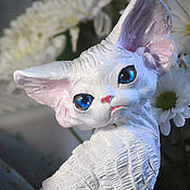 Для дома и интерьера handmade. Livemaster - original item Alicia. Cat Devon Rex. Repeat.. Handmade.