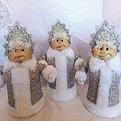 Куклы и игрушки handmade. Livemaster - original item Folk doll: doll snow maiden. Handmade.