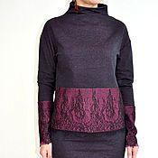 Одежда ручной работы. Ярмарка Мастеров - ручная работа Костюм свитшот и юбка. Handmade.