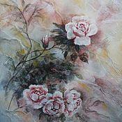 """Картины и панно ручной работы. Ярмарка Мастеров - ручная работа Картина """"Розовая нежность"""". Handmade."""