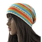 Аксессуары handmade. Livemaster - original item Organic knitted hat. Handmade.
