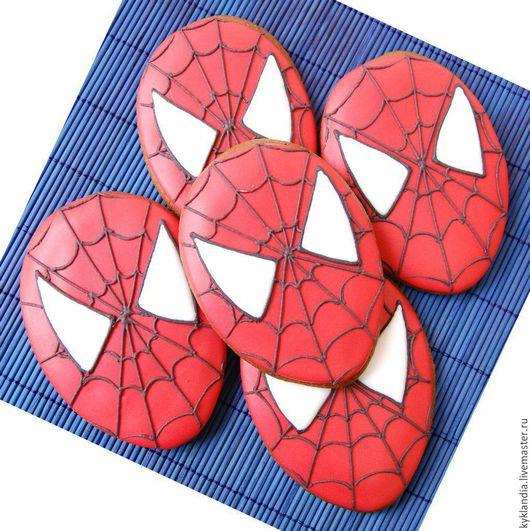 Кулинарные сувениры ручной работы. Ярмарка Мастеров - ручная работа. Купить Маска супергероя. Handmade. Комбинированный, человек-паук, супергерой