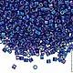 Для украшений ручной работы. Ярмарка Мастеров - ручная работа. Купить MIYUKI DELICA 8/0 DBL165 opaque cobalt rainbow. Handmade.