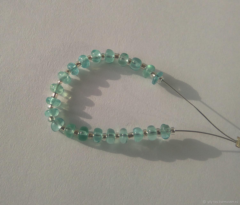 Set of Apatite beads # 2, Beads1, Pyatigorsk,  Фото №1