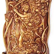 Картины и панно ручной работы. Ярмарка Мастеров - ручная работа Резьба по дереву. Handmade.
