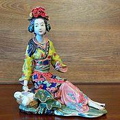 Винтаж ручной работы. Ярмарка Мастеров - ручная работа Красивая китайская девушка. Handmade.