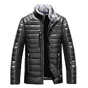 Куртки ручной работы. Ярмарка Мастеров - ручная работа Мужская куртка  0021. Handmade.