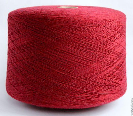 Вязание ручной работы. Ярмарка Мастеров - ручная работа. Купить 100% Меринос экстрафайн. Handmade. Бордовый, пряжа, пряжа для вязания