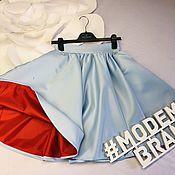 Юбки ручной работы. Ярмарка Мастеров - ручная работа Атласная юбка. Handmade.