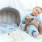 Домик для питомца ручной работы. Ярмарка Мастеров - ручная работа Дом для кота. Handmade.