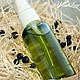 """Для снятия макияжа ручной работы. Ярмарка Мастеров - ручная работа. Купить Гидрофильное масло для умывания """"Лавр"""". Handmade. Зеленый"""