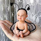 Куклы и игрушки handmade. Livemaster - original item the Little baby flies. Handmade.