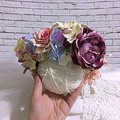 Украшения ручной работы. Ярмарка Мастеров - ручная работа Цветочный венок. Handmade.