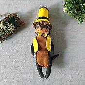 handmade. Livemaster - original item Toys: dog Dog Dandy Cavalier. Handmade.