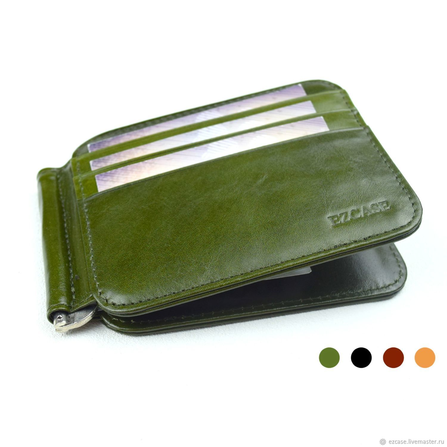 Buy Fotis Money Clip Wallet, Male and Female, Clamps, Moscow,  Фото №1