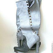 Обувь ручной работы. Ярмарка Мастеров - ручная работа Сапоги Шабли. Handmade.