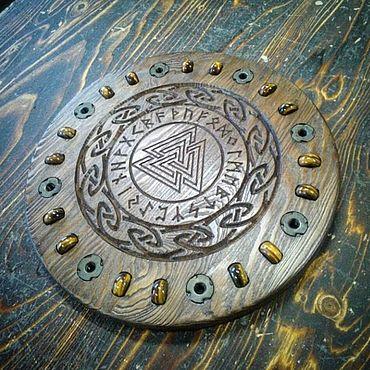 Феншуй ручной работы. Ярмарка Мастеров - ручная работа Алтарь Магический из дерева с натуральными камнями. Handmade.
