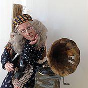 Куклы и игрушки ручной работы. Ярмарка Мастеров - ручная работа Баба-Яга Былое и думы........ Handmade.