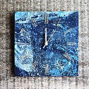 Для дома и интерьера ручной работы. Ярмарка Мастеров - ручная работа Часы с цифрами из джутовой веревки. Handmade.