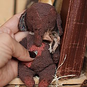 Куклы и игрушки handmade. Livemaster - original item Elephant Teddy Caramel. Handmade.