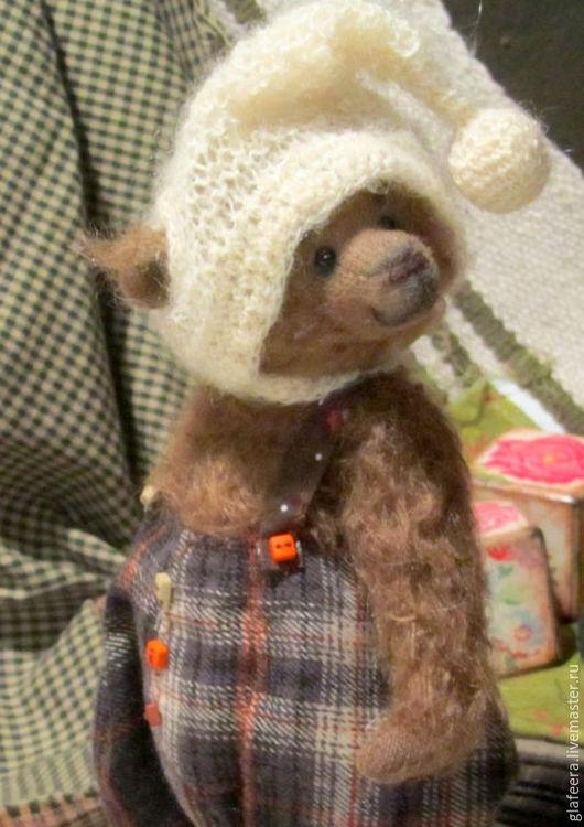 Мишки Тедди ручной работы. Ярмарка Мастеров - ручная работа. Купить Уютный мишка Жан-Поль. Handmade. Коричневый