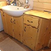 Для дома и интерьера ручной работы. Ярмарка Мастеров - ручная работа Тумбочка в ванную. Handmade.