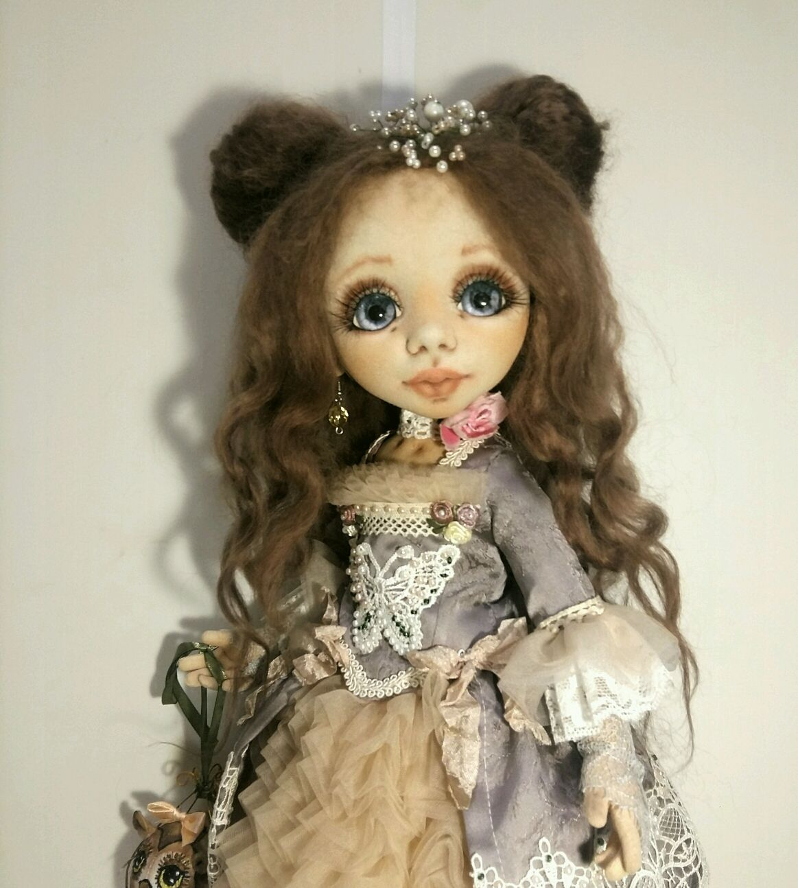 Interior doll Margarita. Textile, Dolls, Pskov,  Фото №1