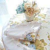 Для дома и интерьера handmade. Livemaster - original item Tablecloth Set table linen in the style of Shabby Chic, Vintage. Handmade.