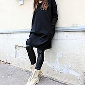 Одежда ручной работы. Ярмарка Мастеров - ручная работа Платье Black Furia. Handmade.