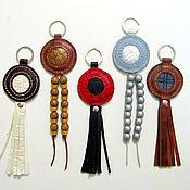 Сумки и аксессуары handmade. Livemaster - original item Amulet-key chain