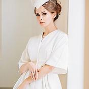 Свадебный салон ручной работы. Ярмарка Мастеров - ручная работа Свадебное пальто. Handmade.